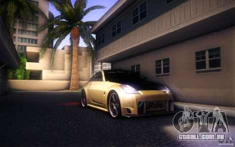 Nissan 350Z Fairlady para vista lateral GTA San Andreas