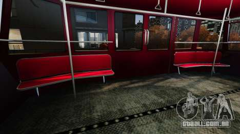 Assento superior no elevador para GTA 4