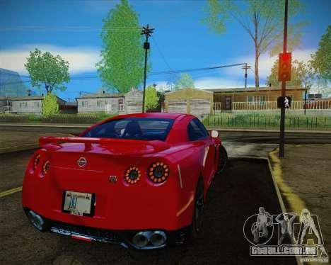 New Playable ENB Series para GTA San Andreas segunda tela