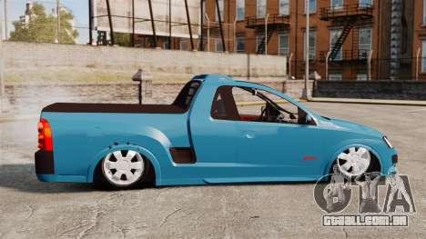 Chevrolet Montana FIXA para GTA 4 esquerda vista