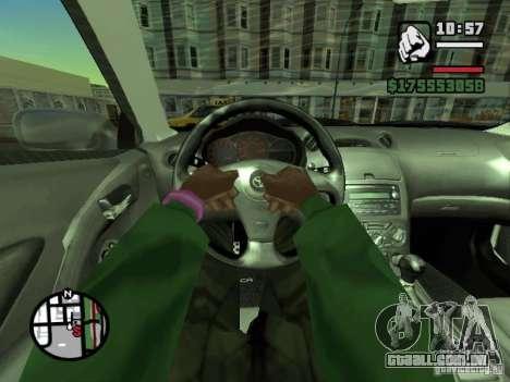 Primeira pessoa (primeira pessoa mod) para GTA San Andreas