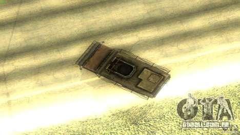 Frontline - MilBus para GTA San Andreas vista interior