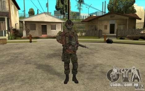 Bandeira das forças especiais para GTA San Andreas