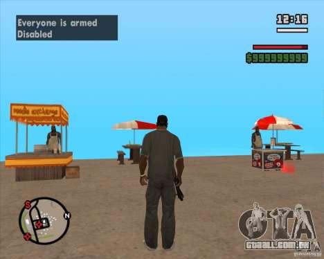 CJ-prefeito para GTA San Andreas sexta tela