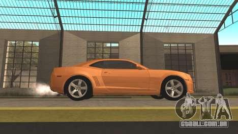Chevrolet Camaro SS 2010 v2.0 Final para GTA San Andreas esquerda vista