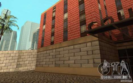 Novas texturas para o hospital em Los Santos para GTA San Andreas nono tela