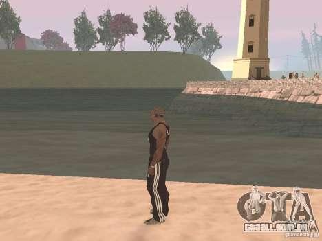 Escolher qualquer clima para GTA San Andreas segunda tela