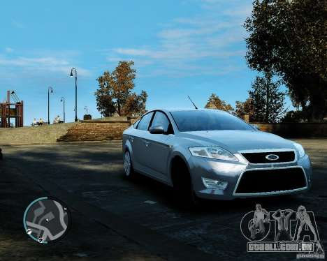Ford Mondeo 2009 v1.0 para GTA 4 esquerda vista
