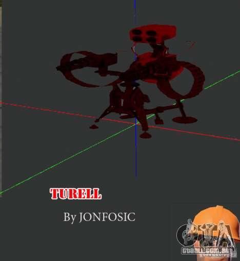 Torreta de Team Fortess 2 para GTA San Andreas
