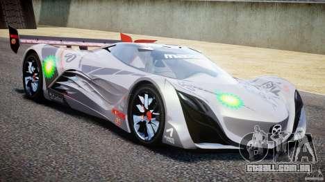 Mazda Furai Concept 2008 para GTA 4 vista lateral