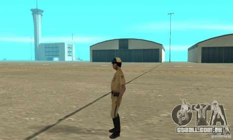 New uniform cops on bike para GTA San Andreas segunda tela