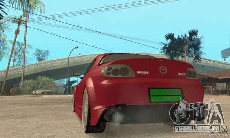 Ligar o motor e os faróis e para GTA San Andreas sexta tela