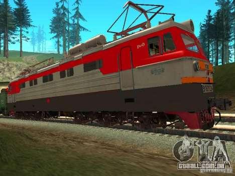 Vl60k 2364 RZD para GTA San Andreas esquerda vista