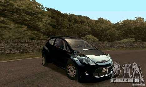 Ford Fiesta Rally para GTA San Andreas esquerda vista