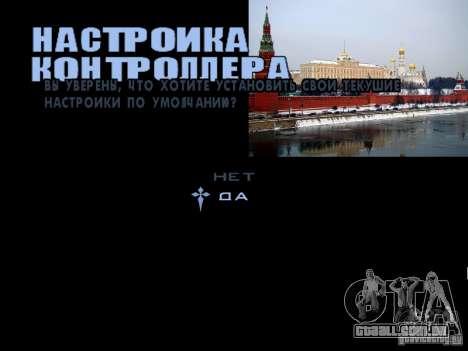 Tela de boot Moscou para GTA San Andreas quinto tela