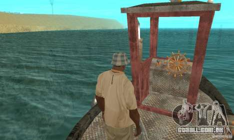Lil Tug para GTA San Andreas vista traseira