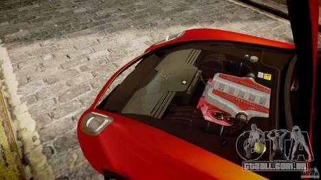 Ferrari 599 GTB para GTA 4 vista de volta