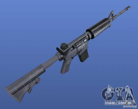 M4 Texture para GTA 4 terceira tela