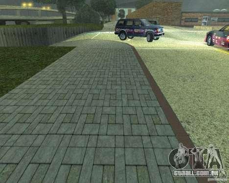 Novas estradas em San Fierro para GTA San Andreas terceira tela