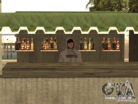 Mercado na praia para GTA San Andreas quinto tela