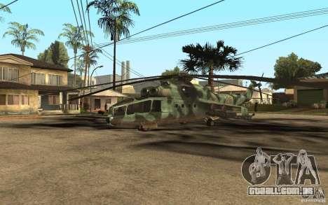MI-24A para GTA San Andreas