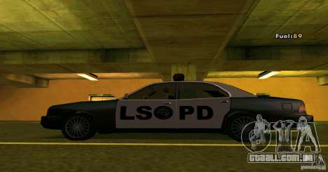 Merit Police Version 2 para GTA San Andreas esquerda vista