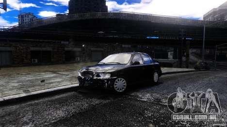 Toyota Corolla 1.6 para GTA 4 vista de volta