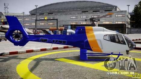 Eurocopter 130 B4 para GTA 4 vista interior