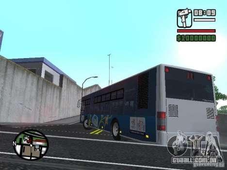 CityLAZ 12 LF para GTA San Andreas esquerda vista