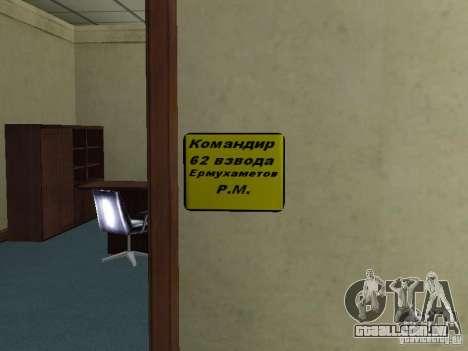 Corpo de cadetes de Krasnoyarsk para GTA San Andreas