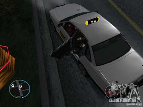 Mod de táxi para GTA San Andreas