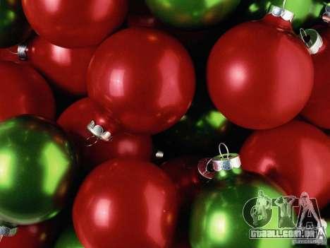 Natal bota clip-art para GTA San Andreas segunda tela