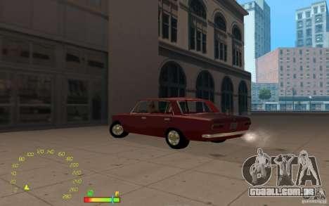 VAZ 2101 para GTA San Andreas traseira esquerda vista
