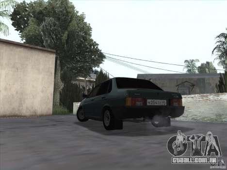 Dreno Vaz 21099 para GTA San Andreas esquerda vista
