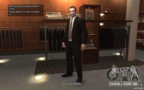 Jaquetas abertas com laços para GTA 4 segundo screenshot