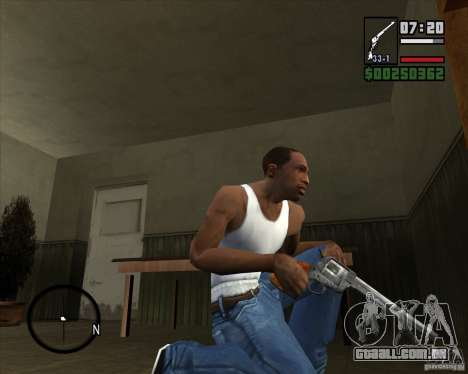 Revólver para GTA San Andreas
