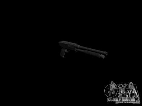 Armas do GTA 4 para GTA San Andreas por diante tela