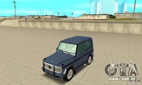 Mercedes-Benz G500 1999 Short [with kangoo v2] para GTA San Andreas