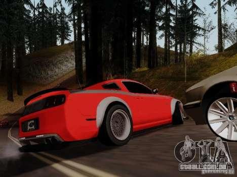 Ford Mustang RTR Spec 3 para GTA San Andreas esquerda vista