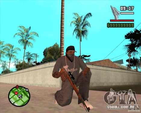 K98 para GTA San Andreas
