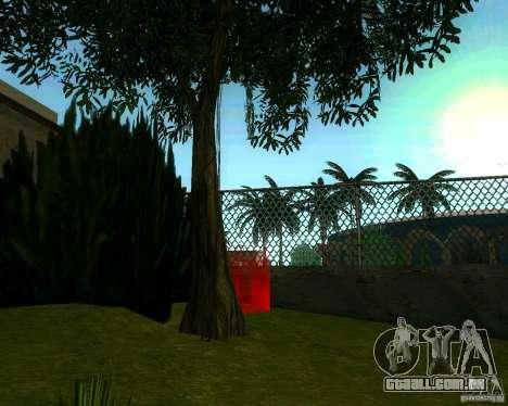 Macieira para GTA San Andreas por diante tela
