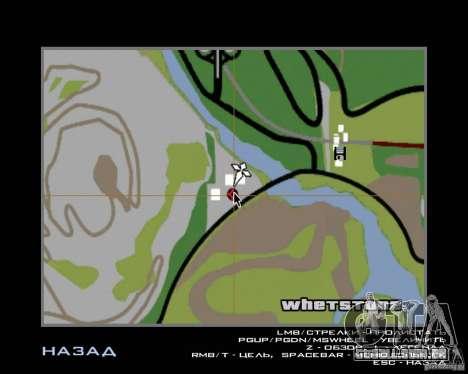 Barney sem-teto para GTA San Andreas oitavo tela