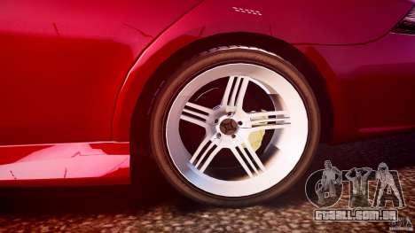 Mercedes Benz CLS Light Tuning v1.0 Beta para GTA 4 vista superior