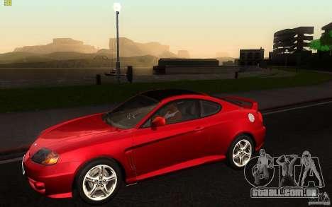Hyundai Tiburon V6 Coupe 2003 para GTA San Andreas