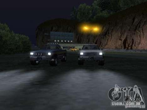Fazendeiro de GTA 4 para GTA San Andreas vista interior