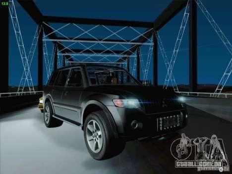 Mitsubishi Montero para GTA San Andreas vista superior