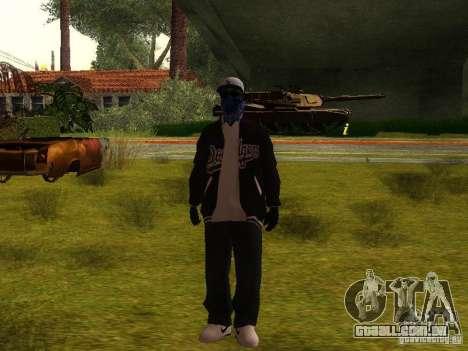 Crips para GTA San Andreas quinto tela