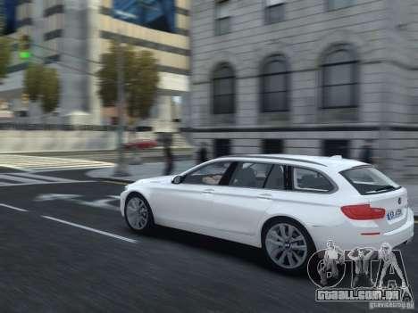 BMW M5 F11 Touring V.2.0 para GTA 4 vista direita