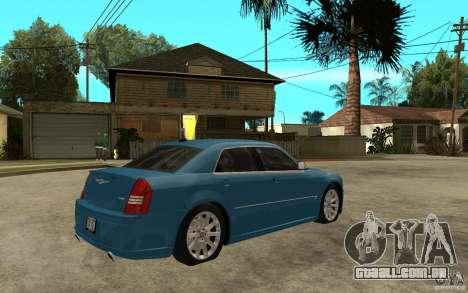 Chrysler 300C 6.1 SRT-8 2007 para GTA San Andreas vista direita