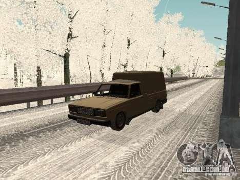 IZH 27175 edição de inverno para GTA San Andreas
